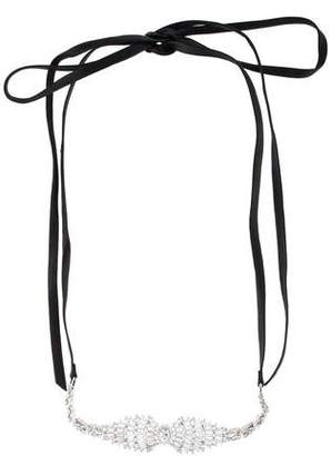 Fallon Crystal Choker Necklace