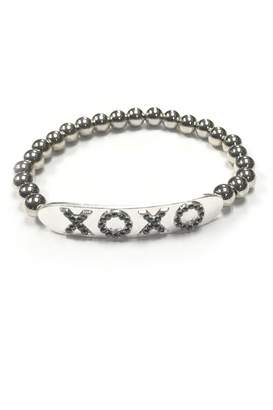 XOXO Lets Accessorize Beaded Bracelet
