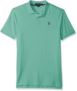 U.S. Polo Assn. Men's Solid Interlock Short-Sleeve Shirt