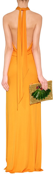 Emilio Pucci Jersey Gown in New Yellow