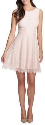 Kensie Dresses Lace Fit-&-Flare Dress