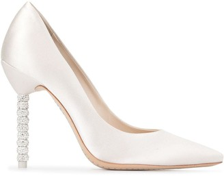 Sophia Webster Coco embellished heel pumps