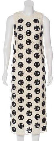 Burberry Burberry Prorsum Lace Midi Dress w/ Tags