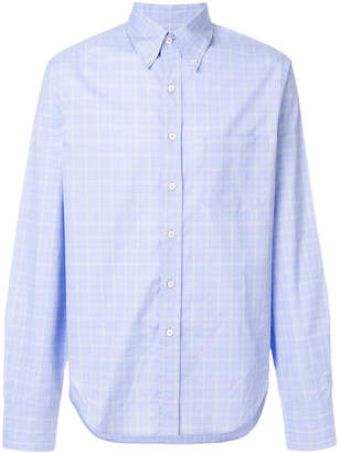 Prada checked long sleeve shirt