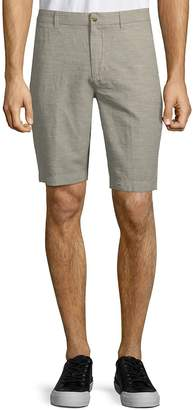 Ben Sherman Men's Tonic Cotton Linen Shorts