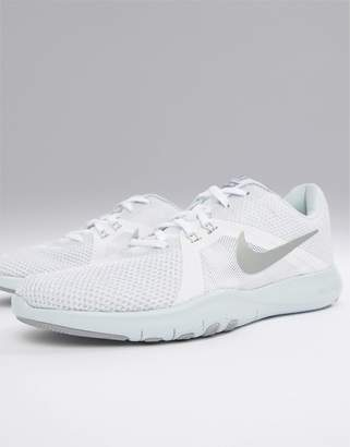 Nike Training Flex Sneakers In White