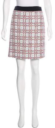 Milly Tweed Knee-Length Skirt