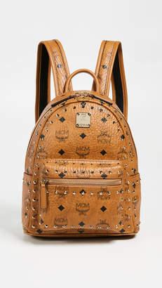 MCM Mini Stark Studs Backpack