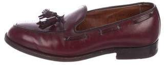 Alden Driftwood Tassel Loafers