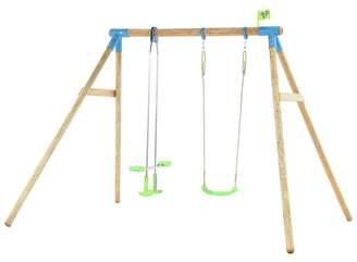 Nagano Tp Wooden Double Swing Set