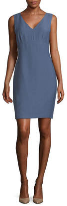 Karl Lagerfeld Paris Sleeveless Sheath Dress