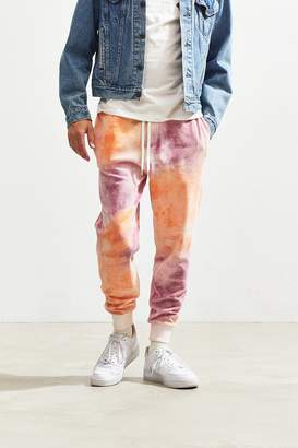 Urban Outfitters Ice Dye Velour Jogger Pant
