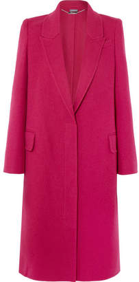 Alexander McQueen Wool And Cashmere-blend Coat - Pink
