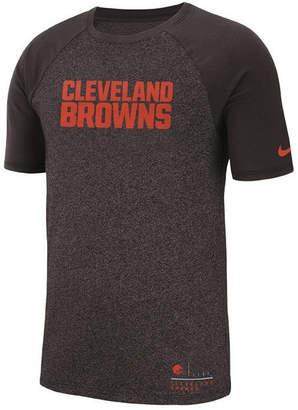 Nike Men's Cleveland Browns Marled Raglan T-Shirt