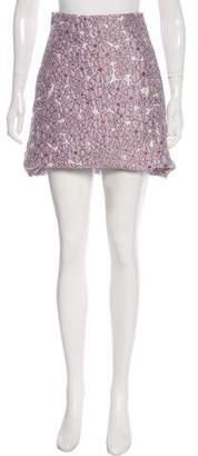 Giamba Jacquard Mini Skirt