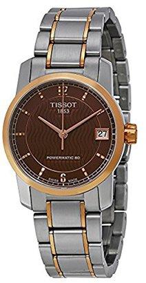 Tissot (ティソ) - [ティソ]TISSOT 腕時計 TITANIUM AUTOMATIC Lady T087.207.55.297.00 レディース 【正規輸入品】