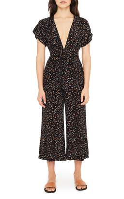 Faithfull The Brand Alena Ditsy Floral Print Jumpsuit