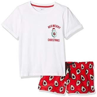 New Look 915 Girl's 5480609 Pyjama Sets, (Bright Red), (Size: 52)