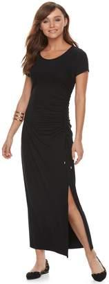 Apt. 9 Women's Ruched Maxi Dress
