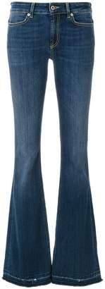 Dondup stonewashed flared jeans