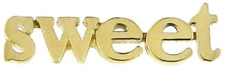 Jennifer Meyer Sweet Single Stud Earring - Yellow Gold