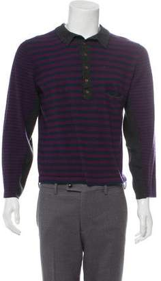 Yigal Azrouel Striped Cashmere Henley