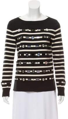 Marc Jacobs Cashmere-Blend Striped Sweater