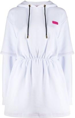GCDS hooded sweat dress