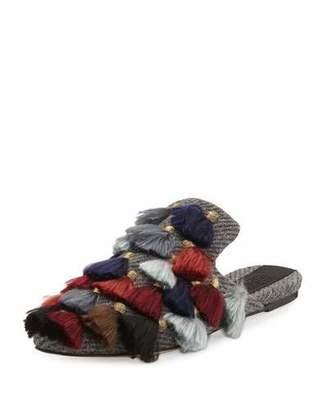 Sanayi313 Eloise Wool-Blend Slipper Flat