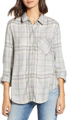 BP Heathered Plaid Shirt
