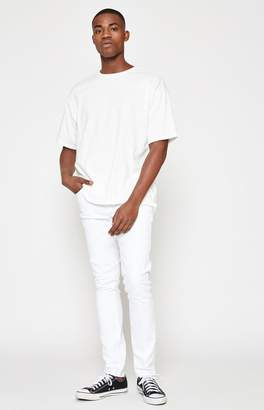 PacSun Skinny Active Stretch White Jeans