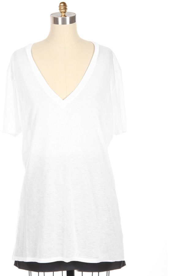 AMBER VALLETTA FOR MONROW V-Neck Tee Exclusive