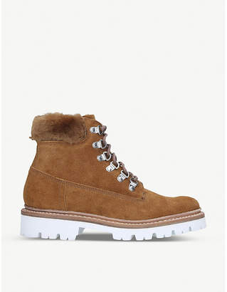 Grenson Brooke suede hiking boots