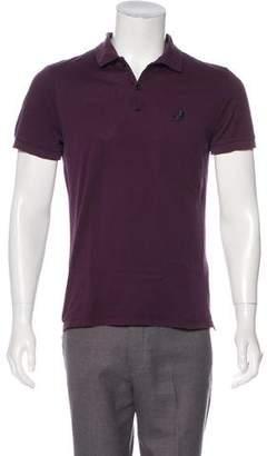 Lanvin Short Sleeve Polo Shirt