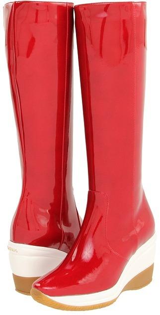 Aquatalia by Marvin K Bright (Black Specchio Patent) - Footwear