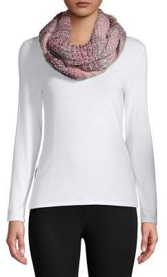 Vince Camuto Mix Stitch Wrap-Around Scarf