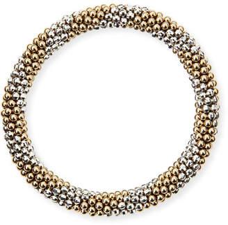 Meredith Frederick Elsie D 14k and Silver Bead Bracelet
