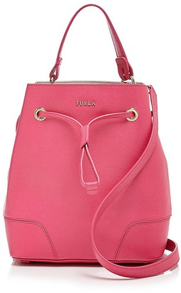 Furla Small Stacy Drawstring Tote $328 thestylecure.com