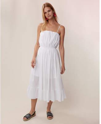 Express empire waist midi dress