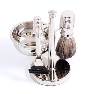 Bey-Berk Bey Berk 4-pc. Mach3 Shaving Kit