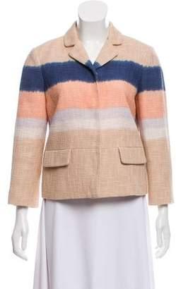 Tory Burch Dip-Dye Tweed Blazer