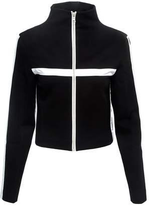 Vhny Black Sporty Jacket