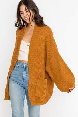 Apricot Lane St. Cloud Over Open Cardi