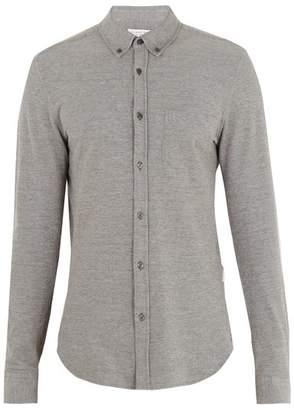 Orlebar Brown Oliver Cotton PiquA Shirt - Mens - Grey