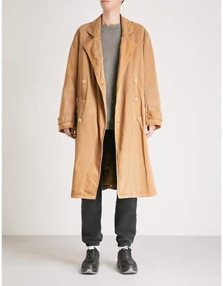 Yeezy Season 6 oversized cotton-blend trench coat