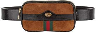 Gucci Ophidia Suede Belt Bag