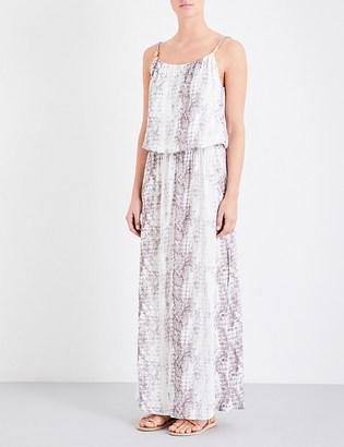 Heidi Klein Alhambra crepe maxi dress $255 thestylecure.com