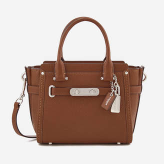 Coach Women's Swagger 21 Tote Bag - Saddle