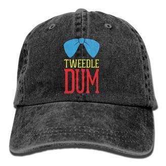 2d672d6ab9e Lyle Clugg Adjustable Baseball Cap Tweedle Dee Bow Tie Dad Hat Trucker Plain  Cap Adult Unisex