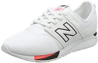 New Balance (ニュー バランス) - [ニューバランス] スニーカー スリッポン KA247 キッズ ホワイト/ブラック 21.5 (現行モデル)